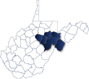 Areas Served in West Virginia by the Randolph County Housing Authority